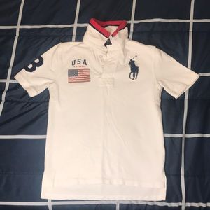 Ralph Lauren *Like New* Polo Shirt, Size M (10-12)